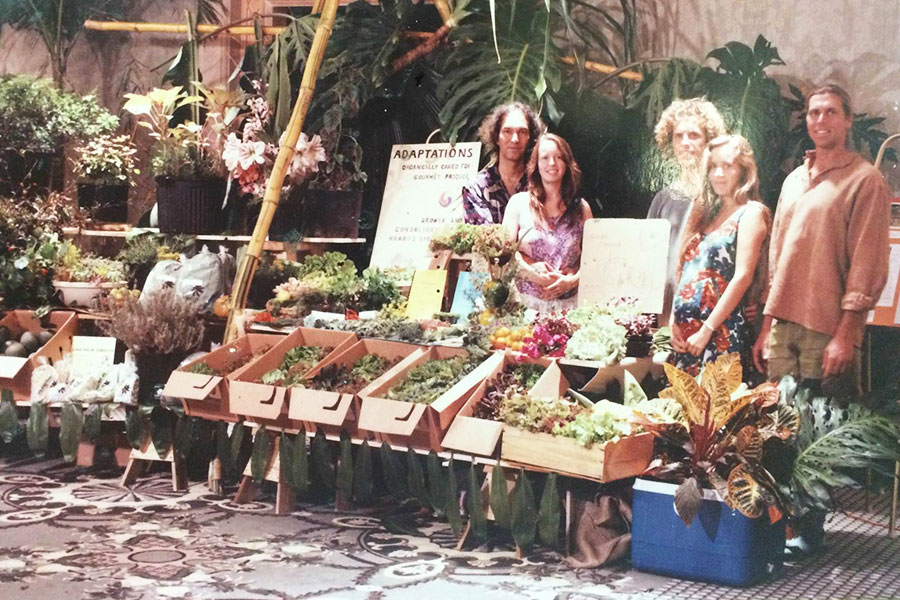1993 Organic Farming Friends and Family - Cab Baber - Sustainable Environment Hawaii