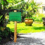 Cab's Vegan Organic Restaurant Garden - Clarence Baber - Big Island Herbs Hawaii